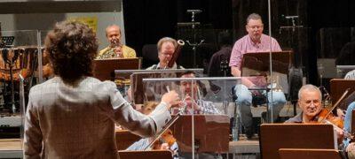 Dirigierseminar mit Studenten der Musikhochschule Dresden