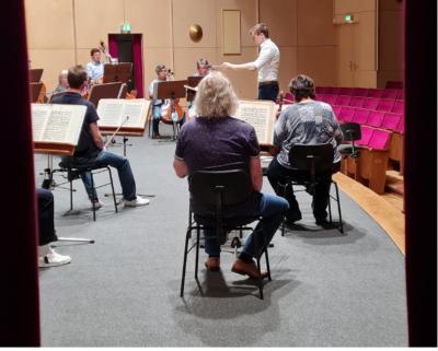 Böhlen, 3. Juni 21: Dirigierkurs mit Professor Klemm